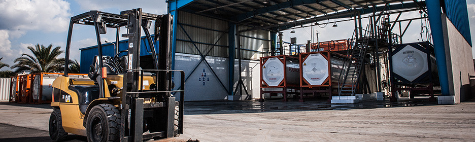 EDS the first ISO tank depot solutions in Egypt and North Africa.